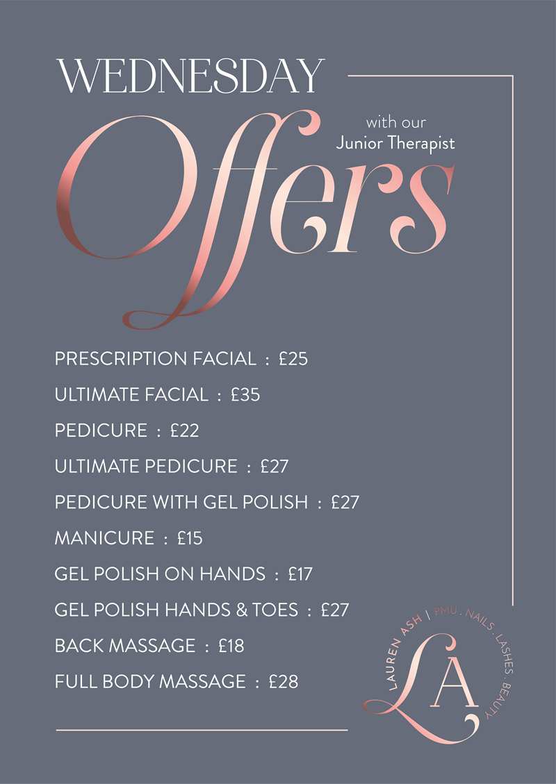 Special Offers on Beauty Treatments Hornchurch Romford Essex